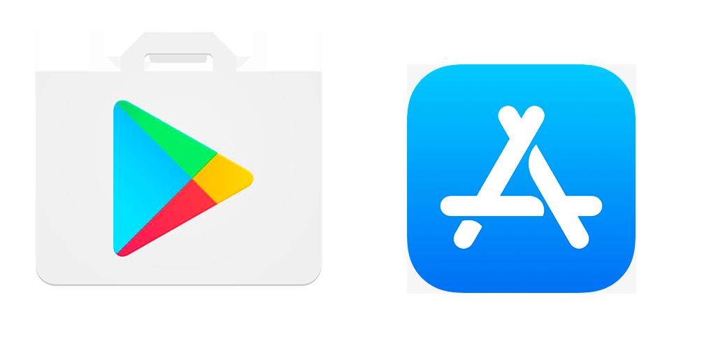 Play Store y APP store